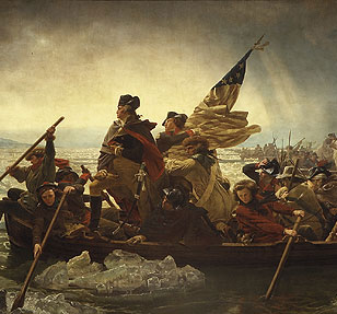 Detail of Washington Crossing the Delaware