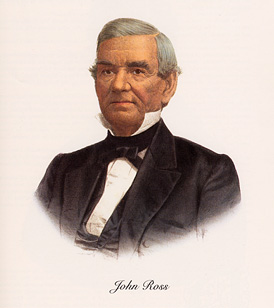 John Ross, Cherokee Chief