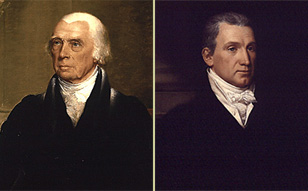 James Madison and James Monroe