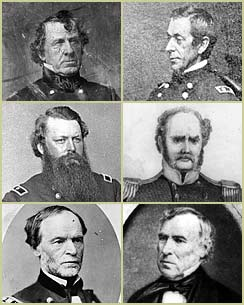 Senior officers of the Second Seminole War