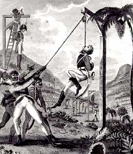 Illustration of the 1805 Haitian Revolution