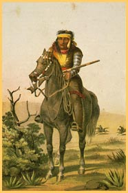 A Lipan Apache warrior