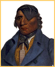 Waa-Pa-Shaw, a Sioux chief