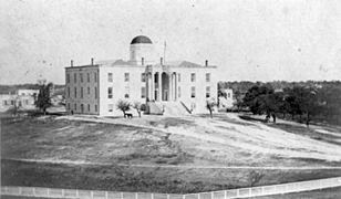 Austin Capitol in the 1860s