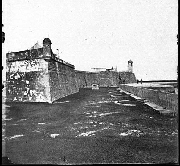 Bastions of Fort Marion