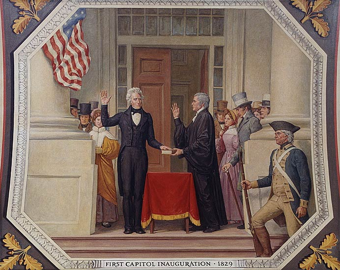 Inauguration of Andrew Jackson as President, 1829