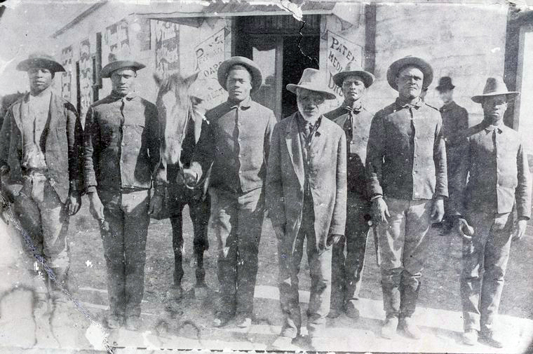 Seminole Negro Indian Scouts, 1889